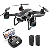 DEERC D50 FPV Drohne mit 2K Kamera HD 120° FOV 1080P WiFi Live Übertragung,RC Quadrocopter mit 2...
