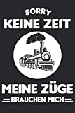 Modelleisenbahn Dampflok Modellbau Zug Lok Notizbuch
