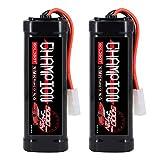 GOLDBAT 5000 mAh 7,2 V NiMH Akku RC Batterie 7.2 V Ersatzbatterie für RC Cars Crawl Truck Boot...