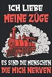 Modelleisenbahn Dampflok Modellbau Zug Lok Spruch Notizbuch: Modelleisenbahn H0 | Modelleisenbahn H0...