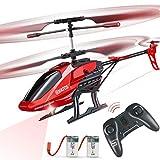 VATOS Hubschrauber Ferngesteuert RC Helikopter: Höhenlage Hobby Flugzeug mit 2 Batterien Kreisel &...